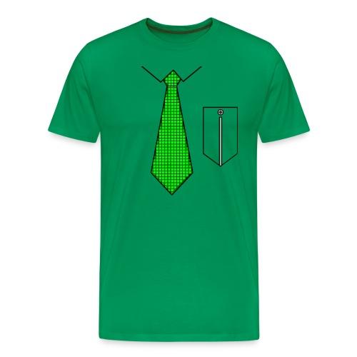 camiseta hombre corbata - Camiseta premium hombre