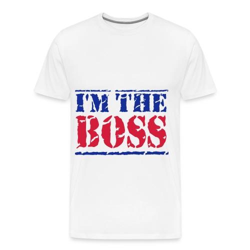 I'm The Boss Mens T-Shirt - Men's Premium T-Shirt