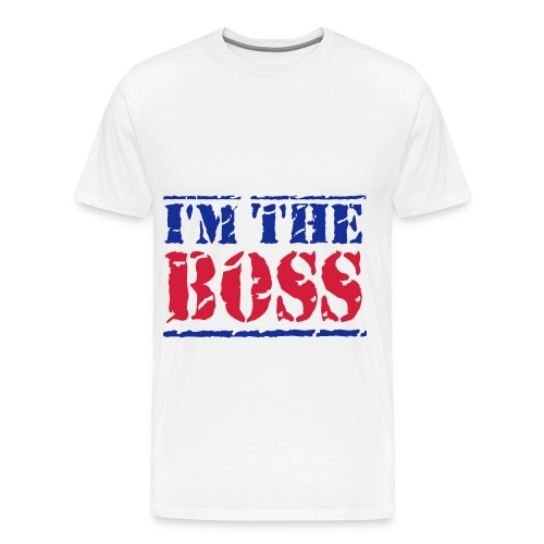 I'm The Boss Mens T-Shirt - Men's Premium T-Shirt