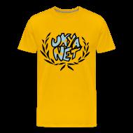 T-Shirts ~ Men's Premium T-Shirt ~ UNYANET Support Shirt for Men