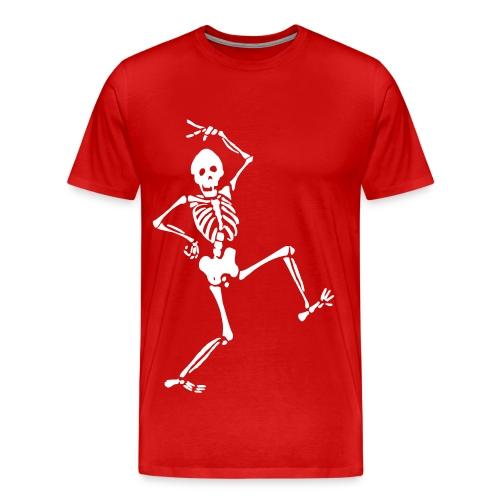 Tee-Shirt Homme - Squelette  - T-shirt Premium Homme