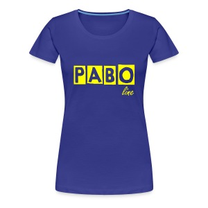 Girlieshirt PABO line in 12 Farben - Frauen Premium T-Shirt