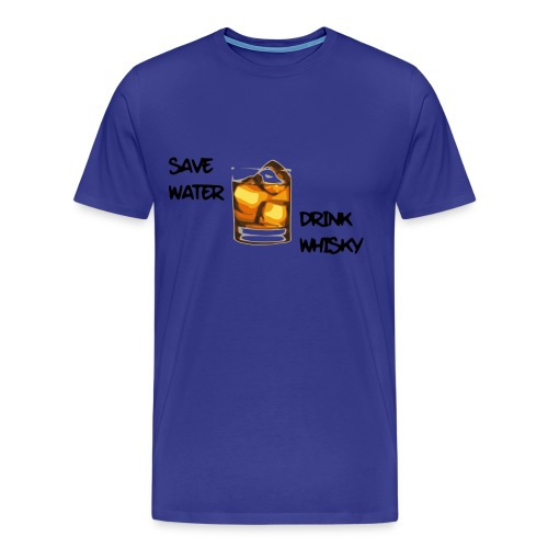 save water - Männer Premium T-Shirt