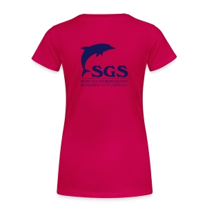SGS Damen T-Shirt NAVY - Frauen Premium T-Shirt