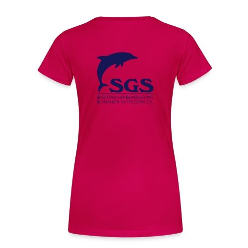 SGS Damen T-Shirt NAVY - Frauen Premium T-Shirt