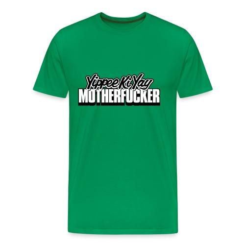 Die Hard: Yippee Ki Yay Motherfucker - Camiseta premium hombre