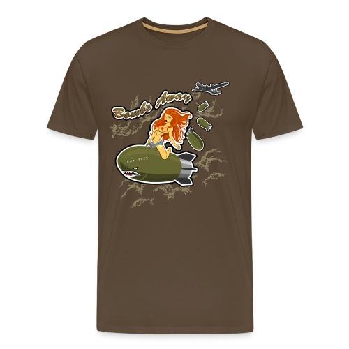 Bomb Rider - Herre premium T-shirt