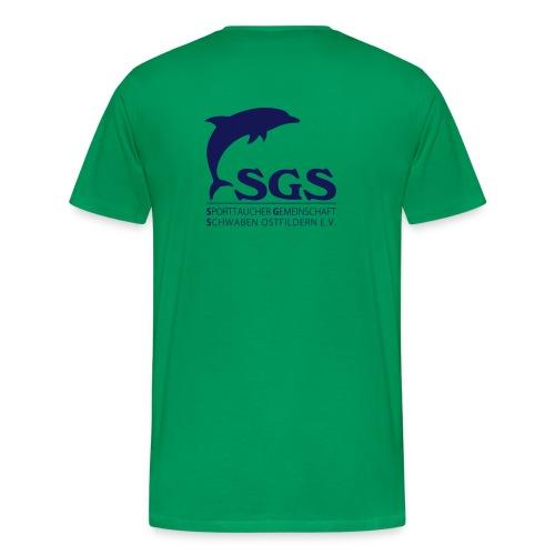 SGS Herren T-Shirt NAVY - Männer Premium T-Shirt