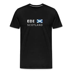 Classic T-Shirt EDI SCOTLAND white-lettered - Men's Premium T-Shirt