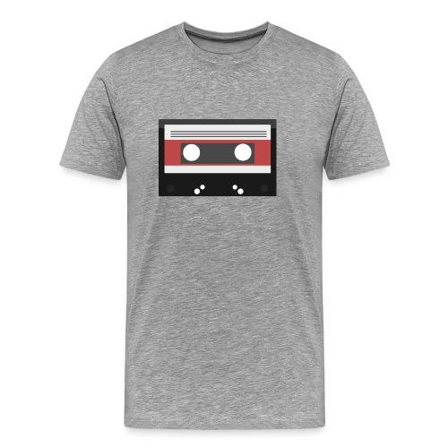 T-shirt con musicassetta - Maglietta Premium da uomo