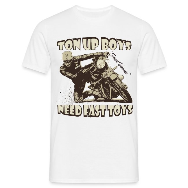 Ton Up Boys biker t-shirt