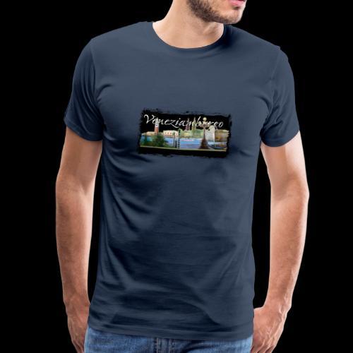 Herren T-Shirt: Collage Veneziamburgo - Männer Premium T-Shirt