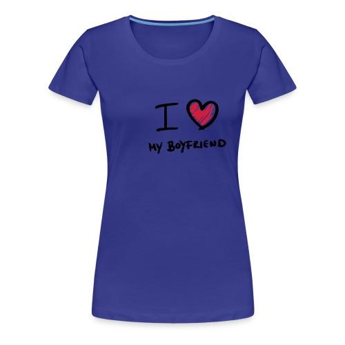 Vrouwen Premium T-shirt - een leuk shirt. perfect voor valentijnsdag om te geven aan je vriendin.