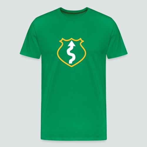 Kurvengott T-Shirt - Männer Premium T-Shirt