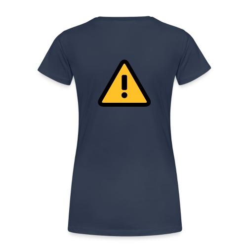 caution girl - Camiseta premium mujer
