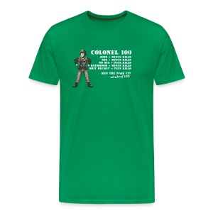 Colonel 100 Rules - Men's Premium T-Shirt