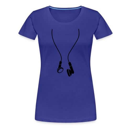 Headphones - Frauen Premium T-Shirt