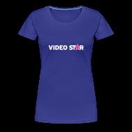 T-Shirts ~ Women's Premium T-Shirt ~ Video Star Logo Women's Adult Tee