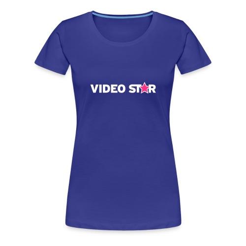 Video Star Logo Women's Adult Tee - Women's Premium T-Shirt