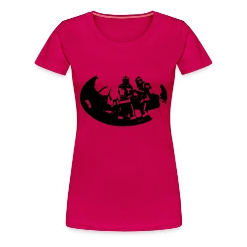 Sapeur Pompier en action - T-shirt Premium Femme