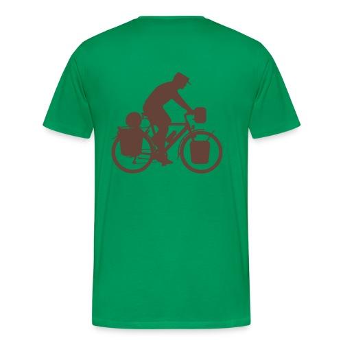 Radreisender T-Shirt - Männer Premium T-Shirt
