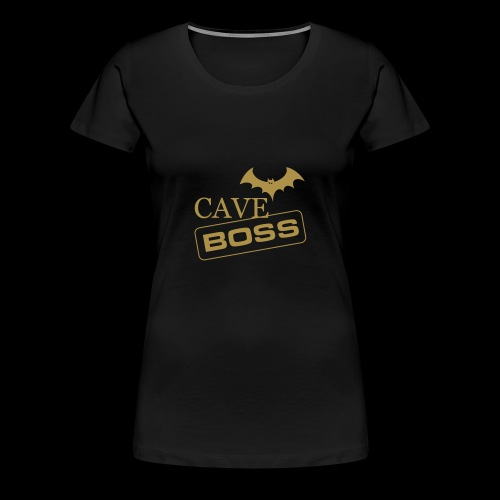 Cave Boss - Maglietta Premium da donna