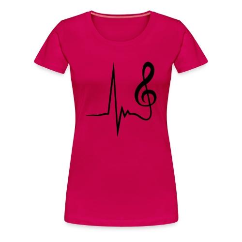 Musicbeats - Frauen Premium T-Shirt