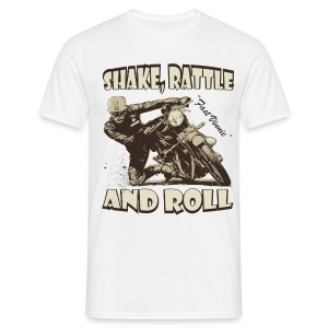 Shake, Rattle & Roll biker t-shirt - Men's T-Shirt