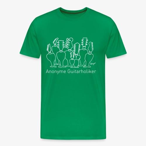 Pingo, Band, Fanshirt Anonyme Guitarholiker - Männer Premium T-Shirt