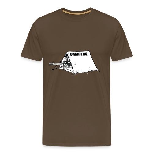 Campers... T-shirt - Mannen Premium T-shirt