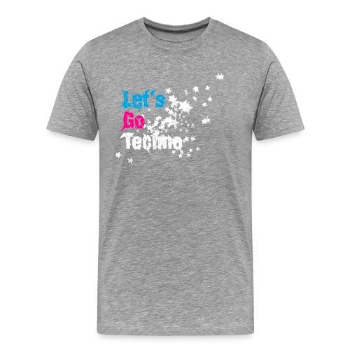 Let´s go Techno Shirt - Männer Premium T-Shirt