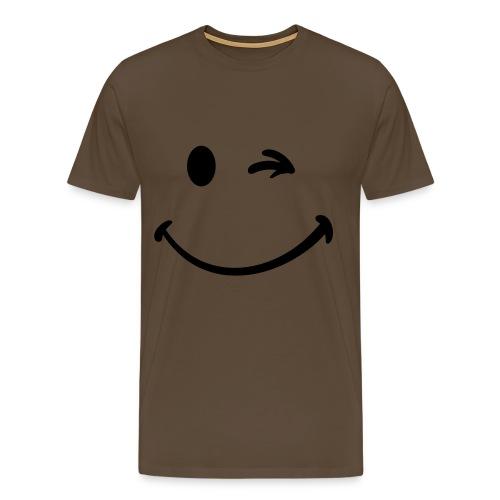 camiseta hombre guiño - Camiseta premium hombre