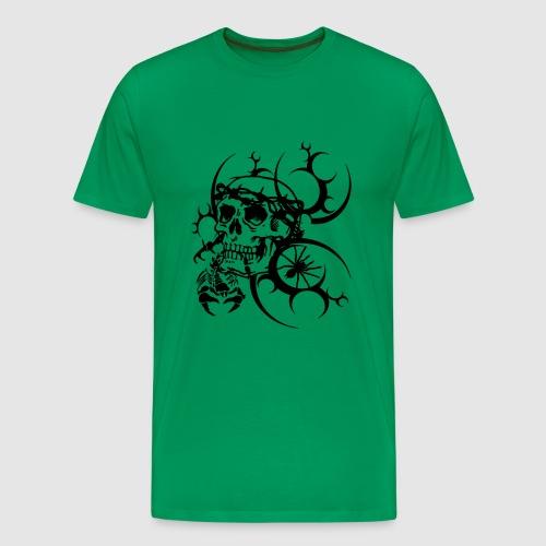 Herren Totenkopf T-Shirt - Männer Premium T-Shirt