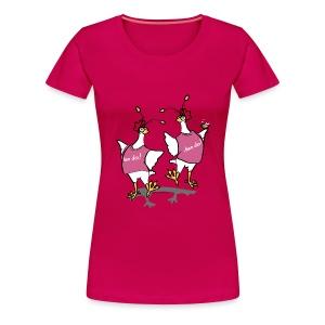 Hen Party (pink) - Women's Premium T-Shirt
