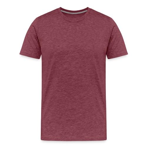 Shirt zonder tekst!  - Mannen Premium T-shirt