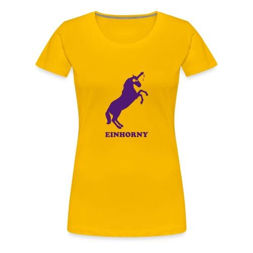 Einhorny - Frauen Premium T-Shirt