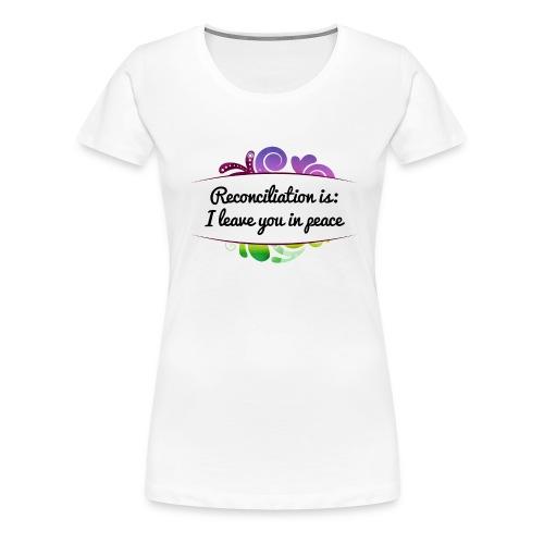 versoehnung_engl__blumig - Frauen Premium T-Shirt