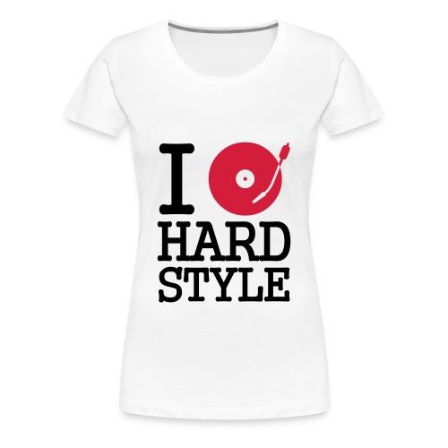 Turntable HardStyle Dames - Vrouwen Premium T-shirt