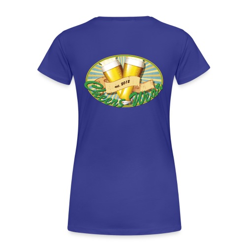 cheerswear_logo - Frauen Premium T-Shirt
