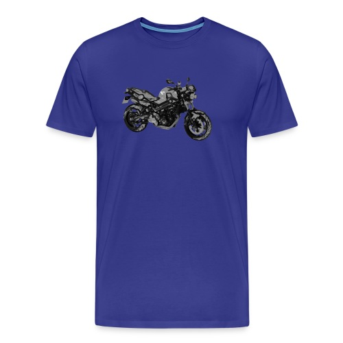 BMW F800R Buntstift + Nick - Männer Premium T-Shirt