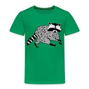 tier t-shirt waschbär bär waschen sauber raccoon racoon coon - Kinder Premium T-Shirt