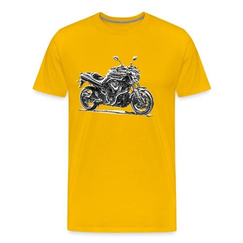 Yamaha MT 01 Chrom - Männer Premium T-Shirt