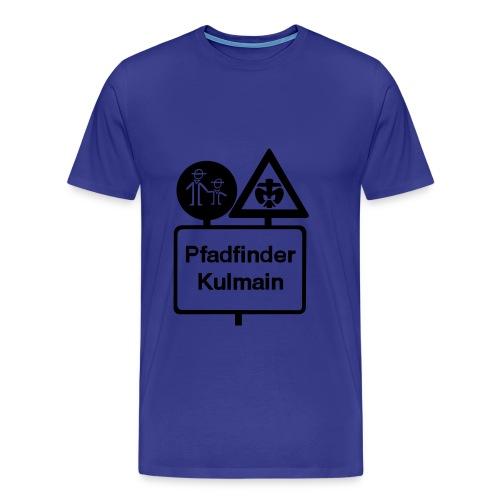 Basic Männer Stammeslogo schwarz vorne - Männer Premium T-Shirt