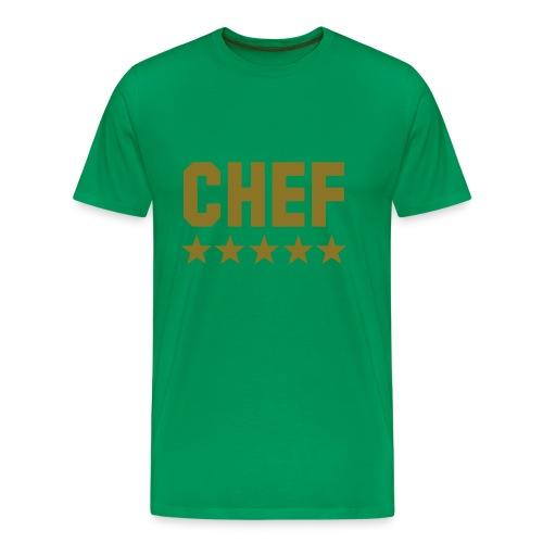 camiseta hombre chef - Camiseta premium hombre