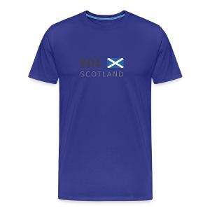 Classic T-Shirt EDI SCOTLAND dark-lettered - Men's Premium T-Shirt
