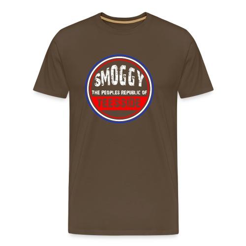 Smoggy PRT - Brown - Men's Premium T-Shirt