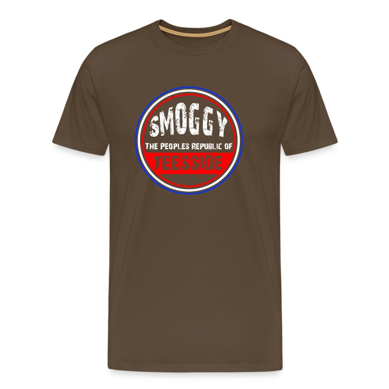Smoggy PRT - Brown - Men's Premium T-Shirt