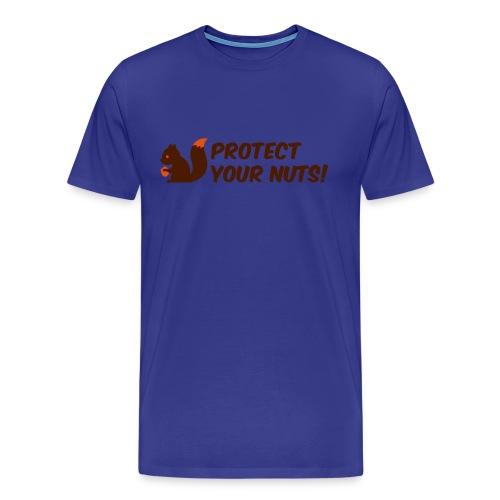 Protect your nuts - Maglietta Premium da uomo