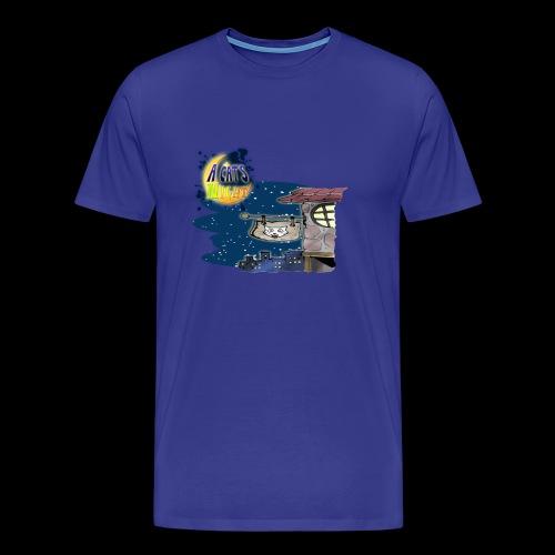 A Cat's Night Special 2B - Maglietta Premium da uomo