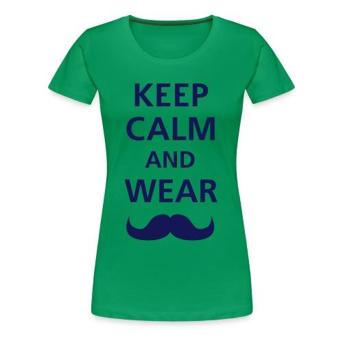 keep calm - Vrouwen Premium T-shirt